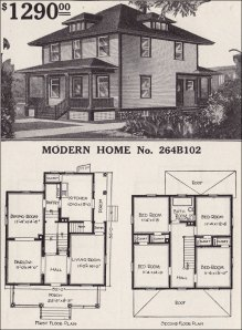 The classic Four Square home.